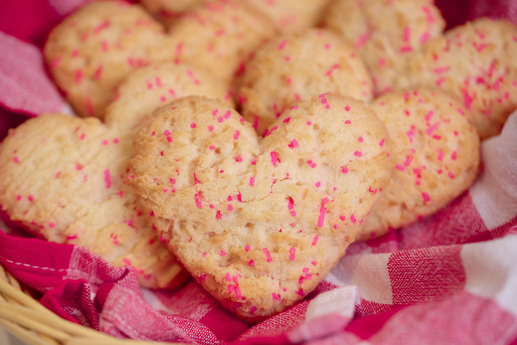 Heart Shaped Cookies Available!