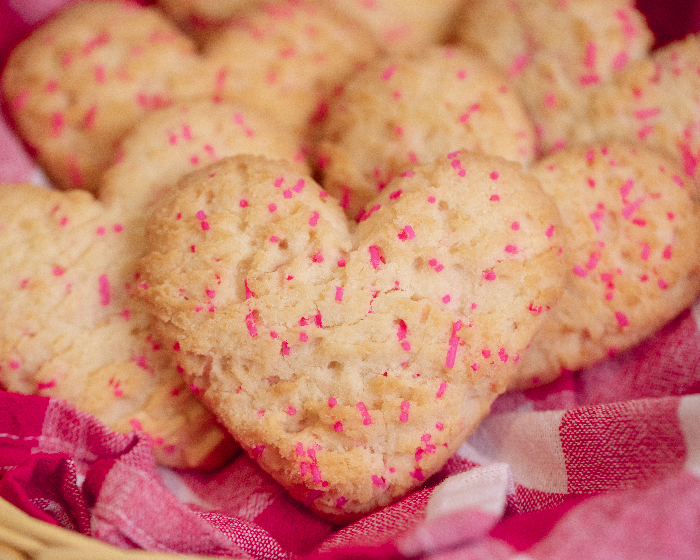 Vanilla Heart Cookies are here!